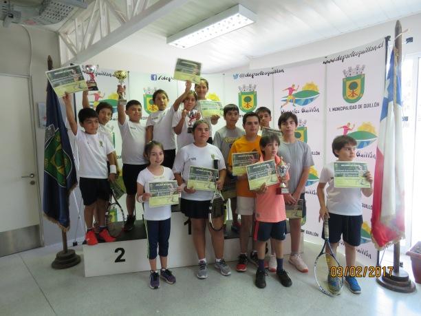 Participantes del 2° Open 2017